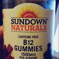 Sundown Naturals B-12 Gummies Dietary Supplement, 1500mcg, 90 count uploaded by Wendee C.