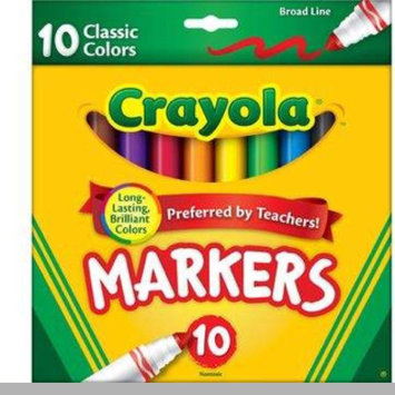 Photo of Crayola 10ct Broad Markers - Assorted Colors uploaded by Siterria N.