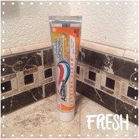Aquafresh Extreme Clean Whitening Action Toothpaste uploaded by Jennifer F.