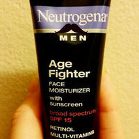 Neutrogena® Men Age Fighter Face Moisturizer with Sunscreen Broad Spectrum SPF 15 uploaded by Neysha M.