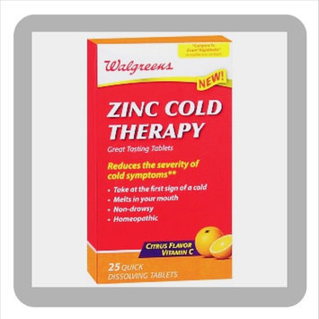 Photo of Walgreens Zinc Cold Therapy Quick Dissolving Tablets uploaded by C G.