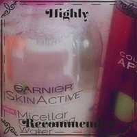 Garnier Skinactive Micellar Cleansing Water All-in-1 Makeup Remover & Cleanser 3 oz uploaded by Sheila N.