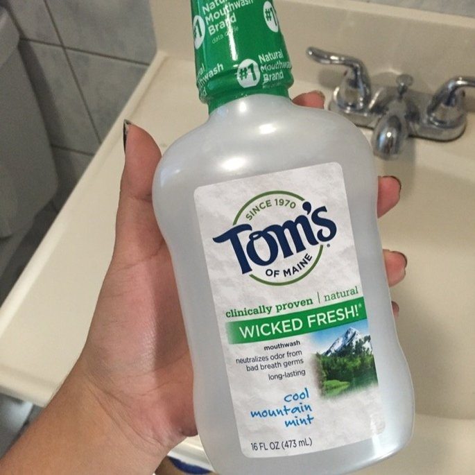 Tom's of Maine Wicked Fresh! Long Lasting Mouthwash uploaded by Synthia I.