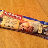 El Monterey Signature Shredded Steak & Cheese Burritos 14 ct Bag uploaded by Kaitlin W.