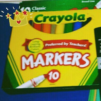 Photo of Crayola 10 Ct Ultraclean Broadline Classic uploaded by Candis O.