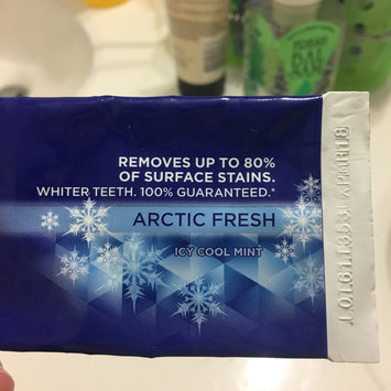 Photo of Crest 3D White Arctic Fresh Whitening Toothpaste uploaded by Cristy T.