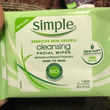 Simple® Eye Makeup Remover Pads uploaded by Cassie H.