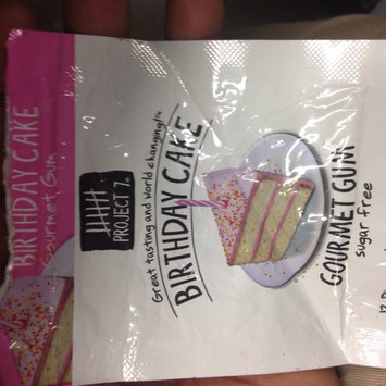 Photo of Project 7 Sugar Free Gum Birthday Cake - 12 CT uploaded by essynce j.