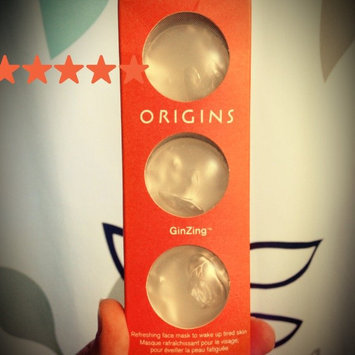 Origins GinZing Refreshing Face Mask Pods to Go uploaded by Ruby H.