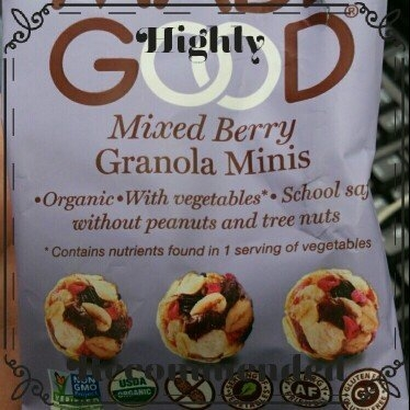 Made Good, Granola Bar, Organic Chocolate Chip, Pack of 6, Size - 6/5 OZ, Quantity - 1 Case [] uploaded by Barbara T.