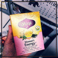 Yogi Tea Yogi Woman's Energy Tea uploaded by Mariann A.