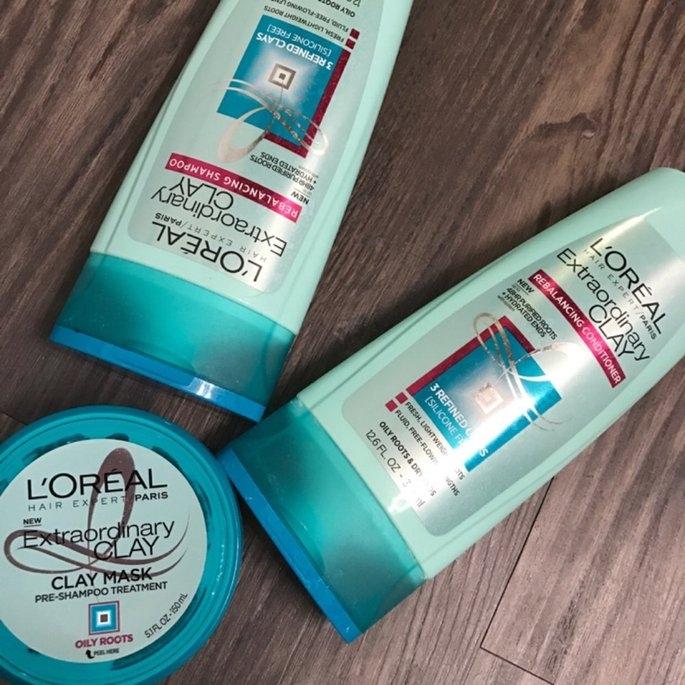 L'Oréal Extraordinary Clay Pre-Shampoo Treatment  Mask uploaded by Sara A.