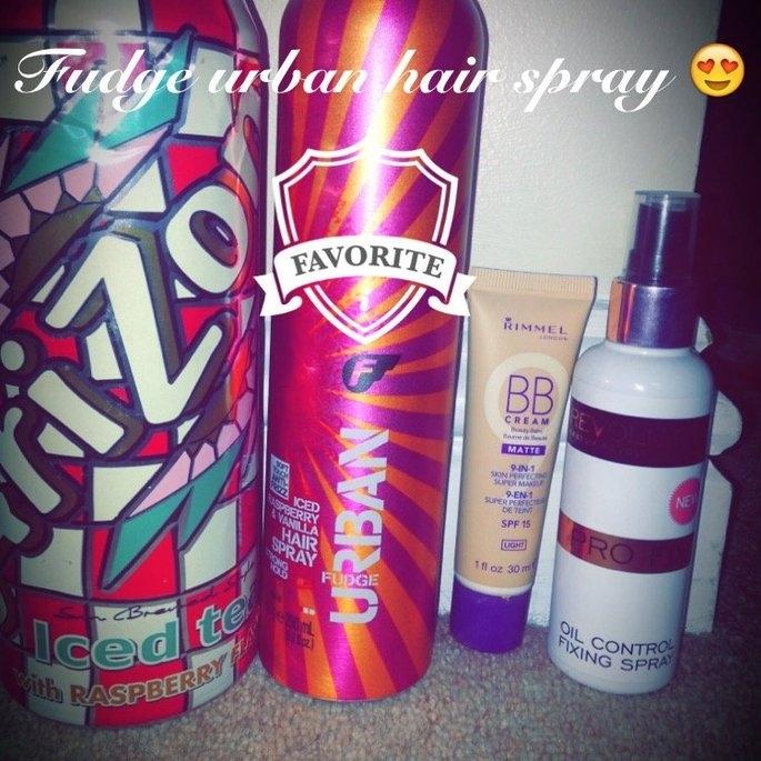 Fudge Urban Iced Raspberry & Vanilla Hairspray - 9.8 fl oz uploaded by Sophina S.