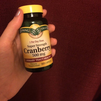 Spring Valley Highly Concentrated Cranberry Dietary Supplement 60 ct uploaded by Ekaterina S.