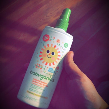 Photo of Babyganics Tear Free Mineral-Based Sunscreen Spray 50+ SPF uploaded by Stephanie S.