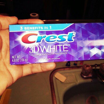 Photo of Crest 3D White Foaming Clean Whitening Toothpaste, 4.8 oz uploaded by Manilyn C.