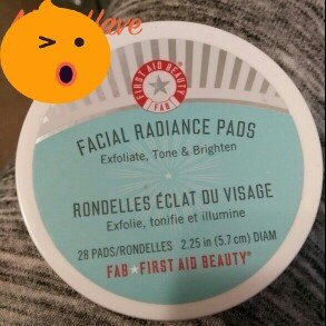 First Aid Beauty Facial Radiance Pads 28 Pads uploaded by Angela G.