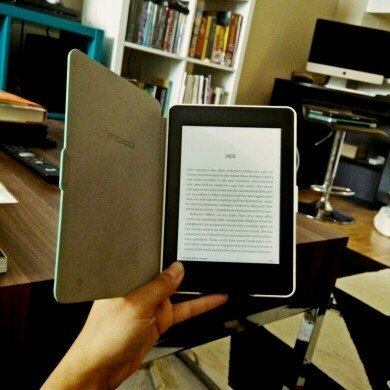 Kindle Paperwhite uploaded by Nina Y.