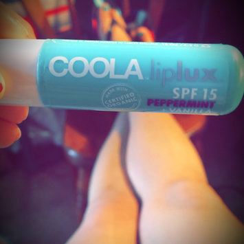 Photo of COOLA Liplux® SPF 30 Peppermint Vanilla Organic Lip Sunscreen uploaded by mary e.