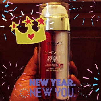 L'Oréal Paris Revitalift Bright Reveal Brightening Dual Overnight Moisturizer uploaded by Monica L.
