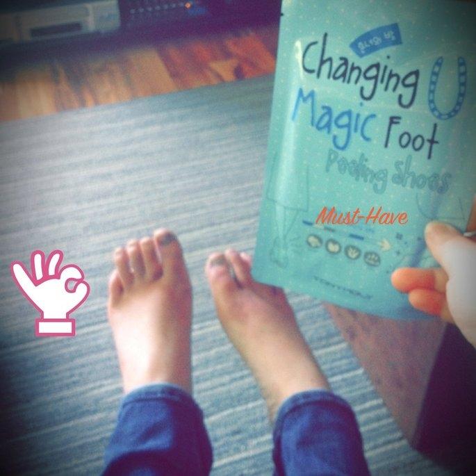Tony Moly Foot Peeling Shoes uploaded by Margaret S.