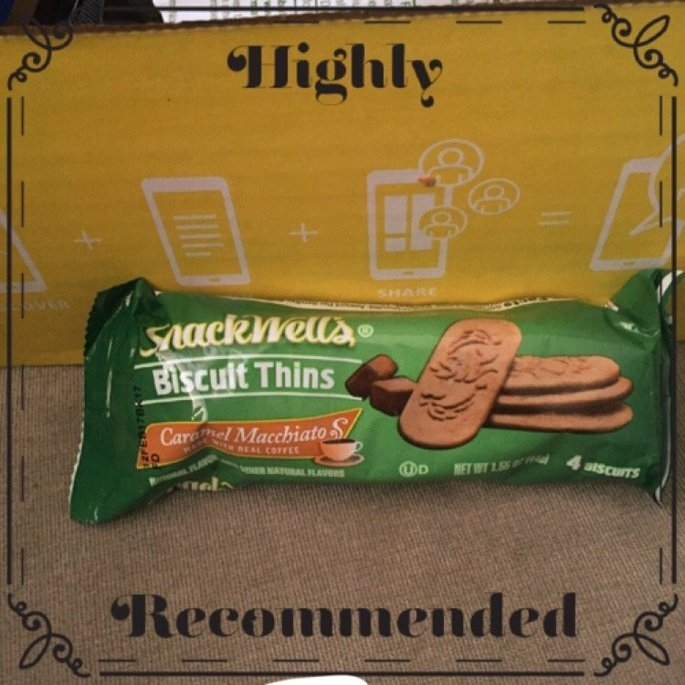 SnackWell's Caramel Macchiato Biscuit Thins uploaded by Regina S.