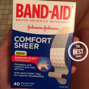 Photo of Band-Aid Sheer Strips Bandages - 40 CT uploaded by Wendy C.