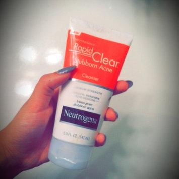 Neutrogena® Rapid Clear® Stubborn Acne Cleanser 5 fl. oz. Tube uploaded by Maya O.