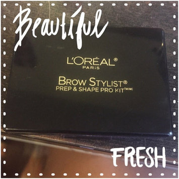 L'Oréal Paris Brow Stylist® Prep & Shape Pro Kit™ uploaded by Lorielle M.