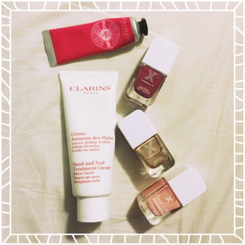 Photo of Clarins Hand and Nail Treatment Cream uploaded by Gloria L.