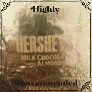 Hershey's  Milk Chocolate with Almonds uploaded by Zuleima H.