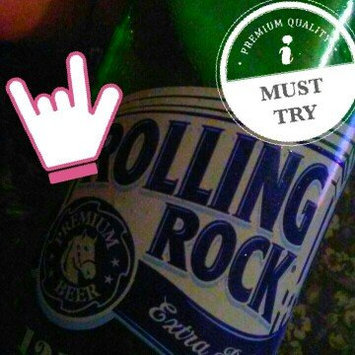 Rolling Rock Beer uploaded by Elly Q.