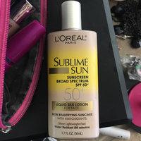 L'Oréal Paris Sublime Sun Advanced Sunscreen SPF 50+ Lotion uploaded by Erika M.