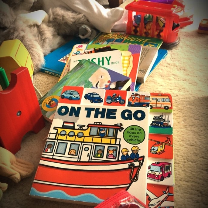Lift-the-Flap Tab: On the Go Board Book uploaded by Heather S.