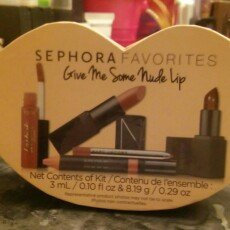 Sephora Favorites Give Me Some Nude Lip uploaded by Cassandra S.