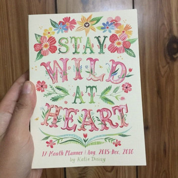 Photo of 2016 Wild at Heart Take Me With You Planner uploaded by Geanne Marrie B.