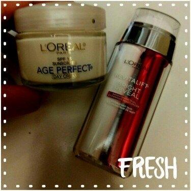 L'Oréal Paris Revitalift Bright Reveal Brightening Dual Overnight Moisturizer uploaded by Lana P.