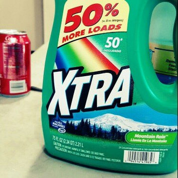 Photo of Xtra™ Mountain Rain 2x Concentrated Laundry Detergent uploaded by Faith D.