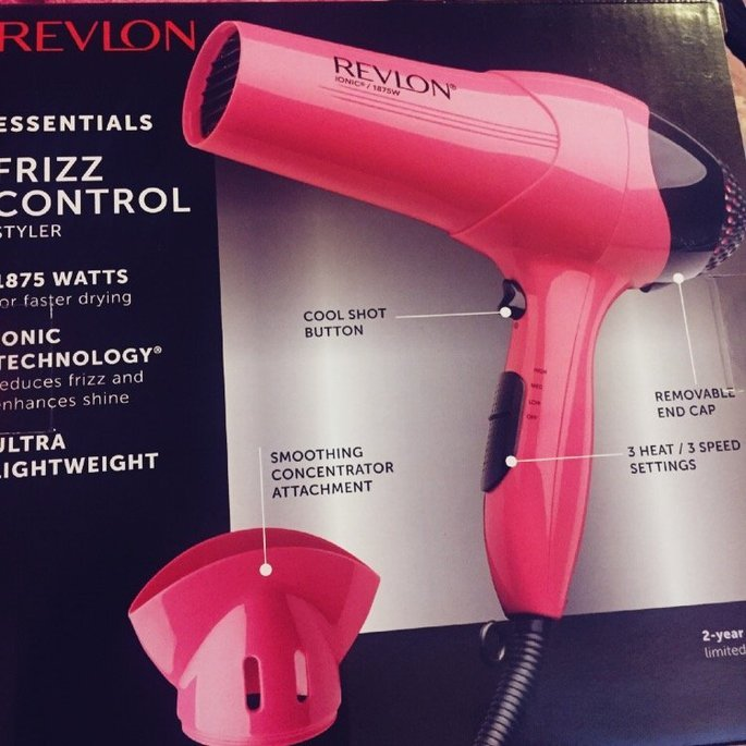 Revlon Pink 1875W Ionic Styler Dryer uploaded by Francisca P.