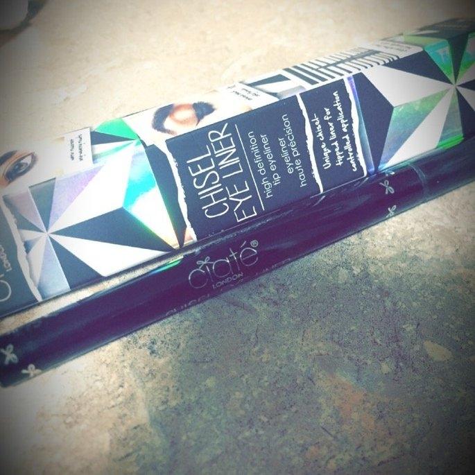 Ciate London Chisel Liner High Definition Tip Eyeliner Black 0.03 oz uploaded by Bayinah E.