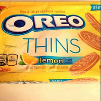 Nabisco Oreo Sandwich Cookies Thins Lemon Creme uploaded by Courtney w.