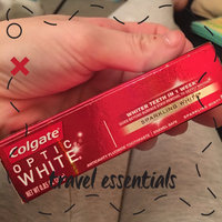 Colgate Optic White Anticavity Fluoride Toothpaste Sparkling Mint uploaded by Abbi H.