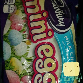 Photo of Cadbury Milk Chocolate Mini Eggs uploaded by Angela j.