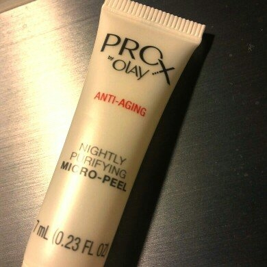 Olay Prox Anti-Aging Nightly Purifying Micro-Peel uploaded by Vilma V.