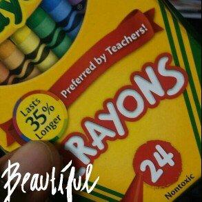 Photo of Crayola 24ct Crayons uploaded by Edwina T.