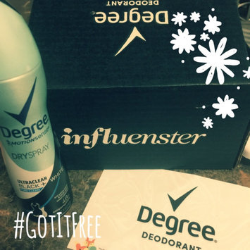 Degree Women Ultra Clear Black + White Antiperspirant Pure Clean Dry Spray uploaded by Sakinah D.