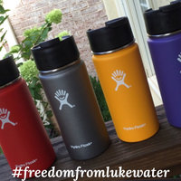 Hydro Flask Vacuum Insulated Stainless Steel Water Bottle, Wide Mouth w/ Hydro Flip Cap [] uploaded by Rebecca N.