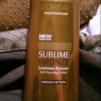 Photo of L'Oréal Paris Sublime Bronze Luminous Bronzer Self-Tanning Lotion uploaded by Peyton S.