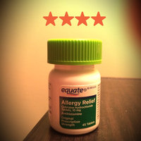 Equate Allergy 24 Hour Indoor & Outdoor Tablets 90 ct uploaded by Chelsea W.
