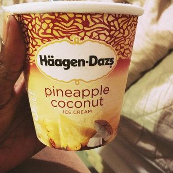 Häagen-Dazs Ice Cream Pineapple Coconut uploaded by Lawanda C.